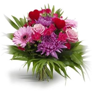 Tænk hvad en buket blomster kan være skyld i !