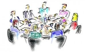 Traditionelle møder kan ofte undlades - og erstattes af tavlemøder
