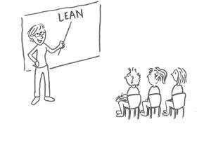Det er på ingen måde kedeligt at arbejde med LEAN - heller ikke på LEAN-grundkurset.